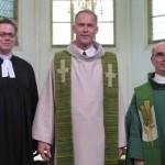 Dreiländergottesdienst in der Minderbroederskerk in Roermond mit Pfarrern aus drei Nationen