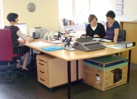 Unser Gemeindebüro – gerne für Sie da