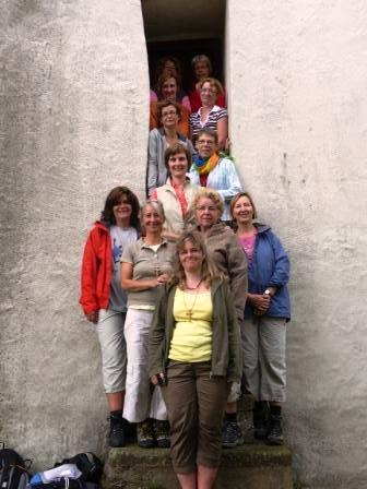Frauenpilgergruppe