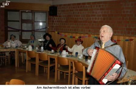 Willi Gehlen am Akkordeon