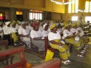 Gottesdienst in Kamerun 2010
