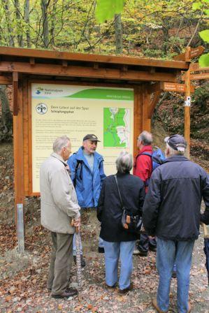 Besuch der Lichterfelder - gemeinsame Wanderung in 2009