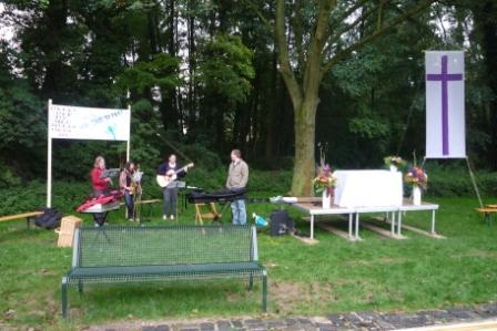 Band im Kaiserpark