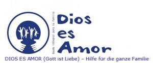 logo dios es amor