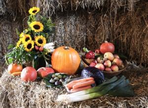 Erntedank  Obst und Gemüse