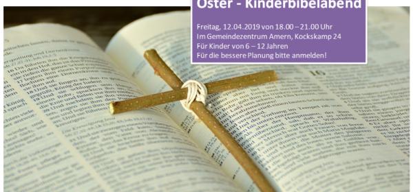 12.04.: Oster-Kinderbibelabend