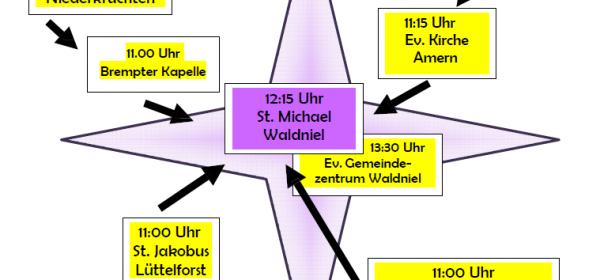 10.06.: Sternwanderung am Pfingstmontag