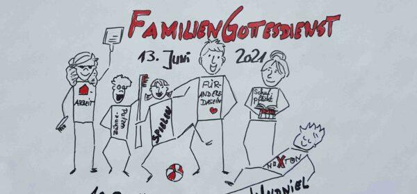 13.6.: Familiengottesdienst – endlich wieder live